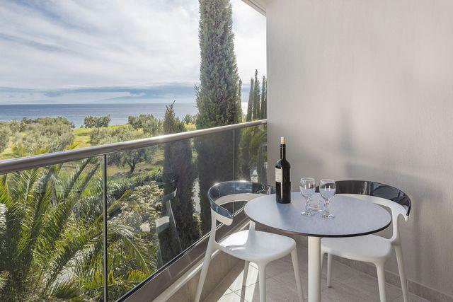 Pomegranate Wellness Spa Hotel - Двойна стая страничен изглед към морето